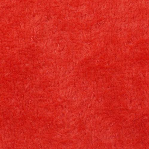 Rizo aterciopleado - rojo