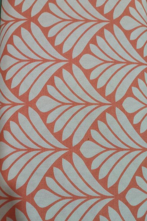 Algodón Orange Flower