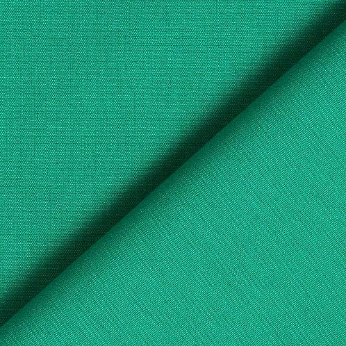 Popelín verde