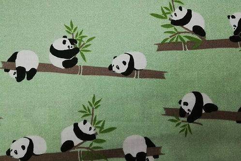 Infantil Algodón 100% panda