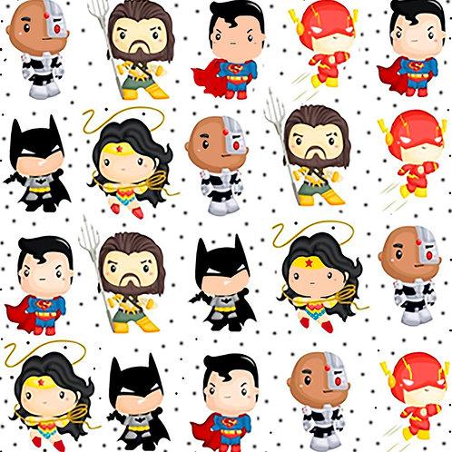 Algodón superheroes