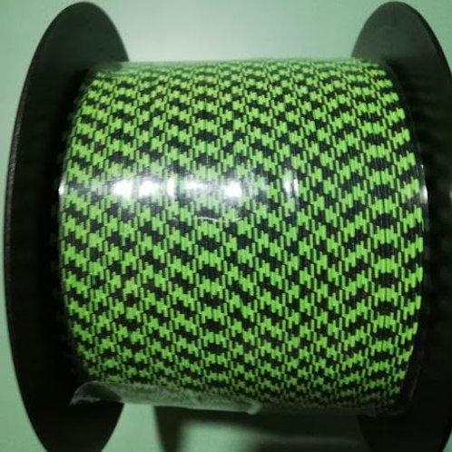 Rollo cinta elástica 6 mm - Fluor 2 - 100 m