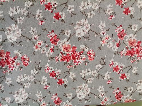 Algodón Sakura gris
