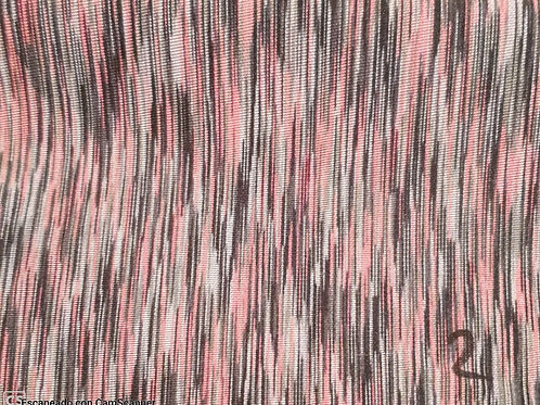Neopreno rosa rayas