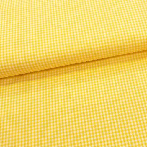 Tela Vichy Amarillo 2.7 mm