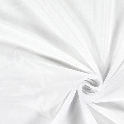 Forro rayón blanco