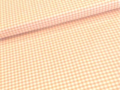 Vichy cuadro naranja 2mm