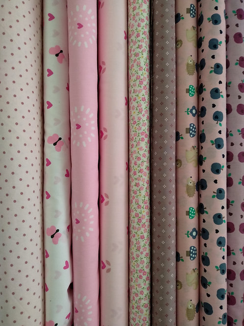 Tela algodón/ Patchwork - rosa