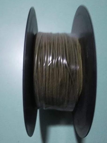 Cordon de goma elástica redonda 1.5 mm