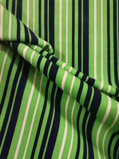 Punto Camiseta green stripes