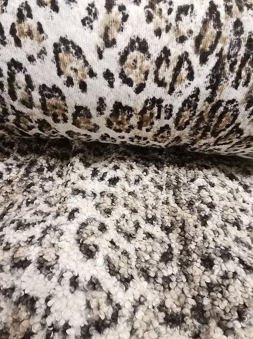 Tela de abrigo (tipo borreguito) Animal Print