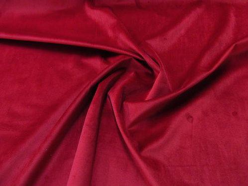 Terciopelo rubí