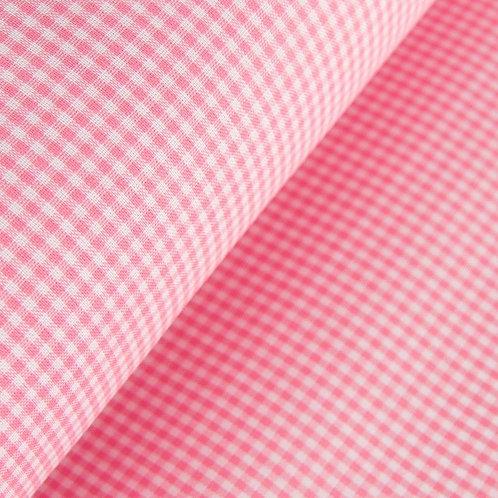 Tela Vichy Rosa pastel 2.7 mm