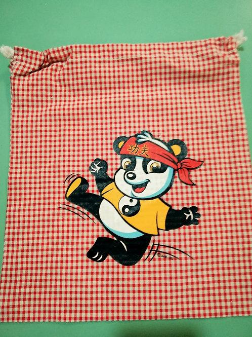 Bolsa Merienda Guardería Oso panda