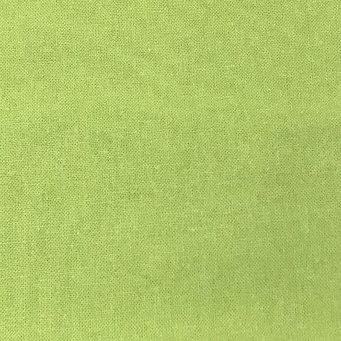 Sábana algodón verde pistacho