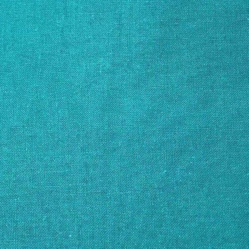 Sábana algodón turquesa