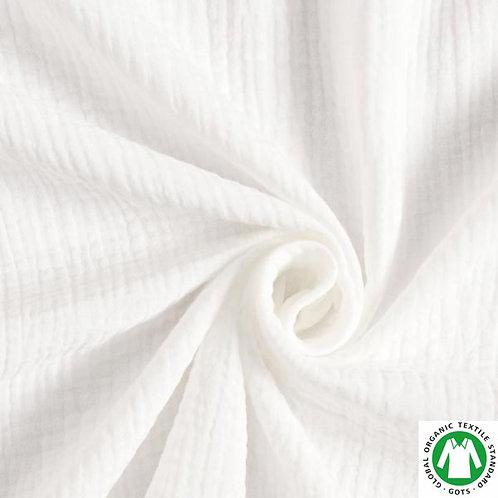 Muselina color blanco