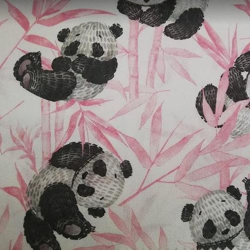 Infantil algodón 100% Pandas