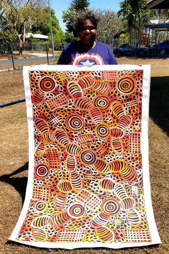 13394 Sharon Numina Aboriginal Artwork A
