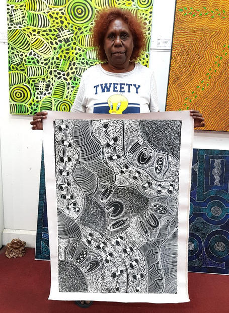 14207 Lanita Numina Aboriginal Art For S