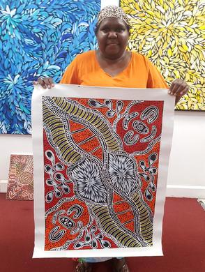 14198 Sharon Numina Aboriginal Art For S