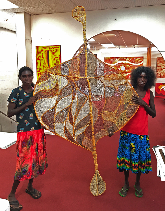 Aboriginal Weaving Art