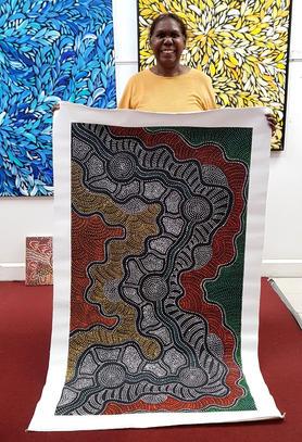 14149 Jacinta Numina Aboriginal Artwork