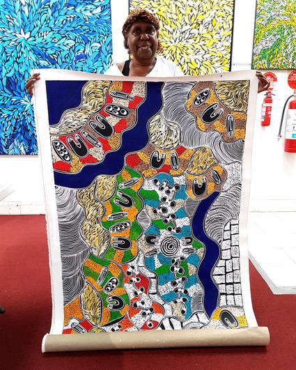 14061 Lanita Numina Aboriginal Art For S