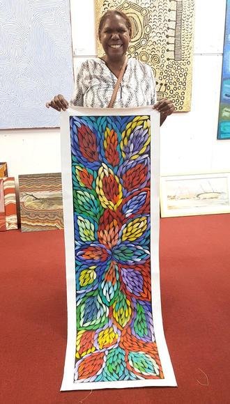 14164 Jacinta Numina Aboriginal Artwork