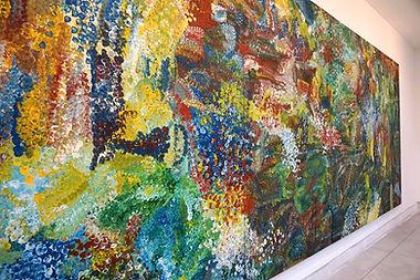 Large Aboriginal Wall Art