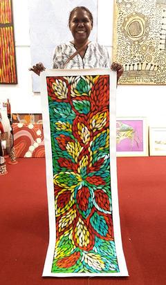 14165 Jacinta Numina Aboriginal Artwork