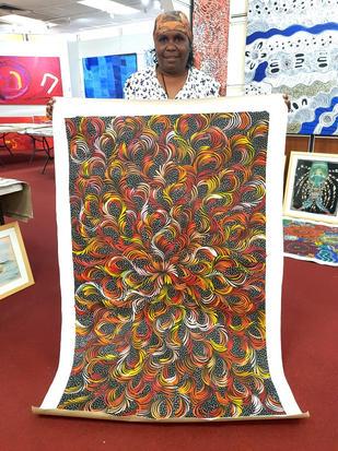 14042 Sharon Numina Aboriginal Artwork A