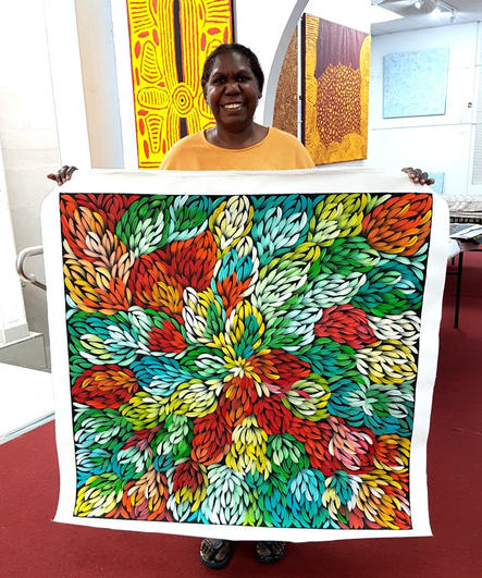 14071 Jacinta Numina Aboriginal Art For