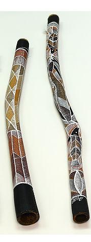 beautiful didgeridoo art
