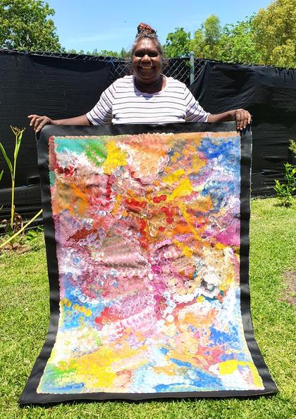14083 Louise Numina Aboriginal Artwork A
