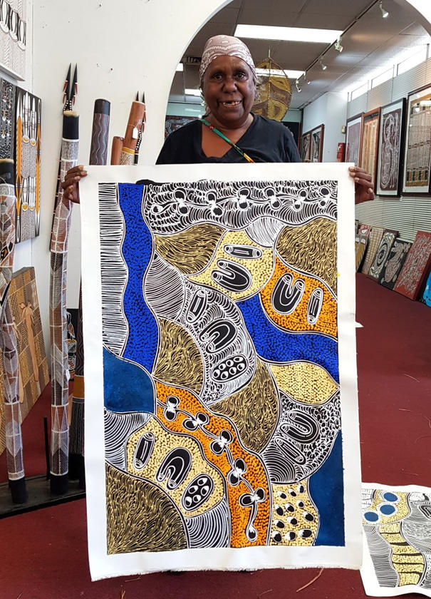 14202 Lanita Numina Aboriginal Art For S
