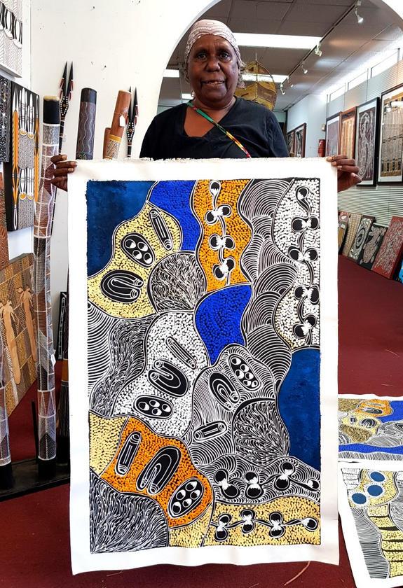 14203Lanita Numina Aboriginal Art For Sa
