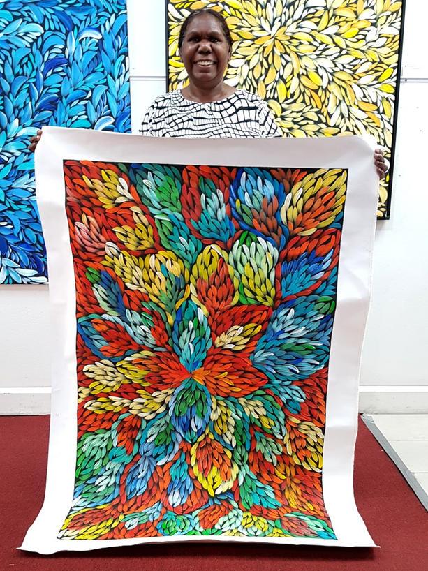 14092 Jacinta Numina Aboriginal Artwork