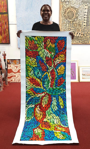 14210 Jacinta Numina Aboriginal Art For