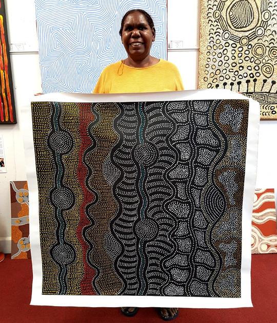 14050 Jacinta Numina Aboriginal Art For