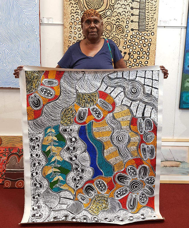 14130 Lanita Numina Aboriginal Artwork A