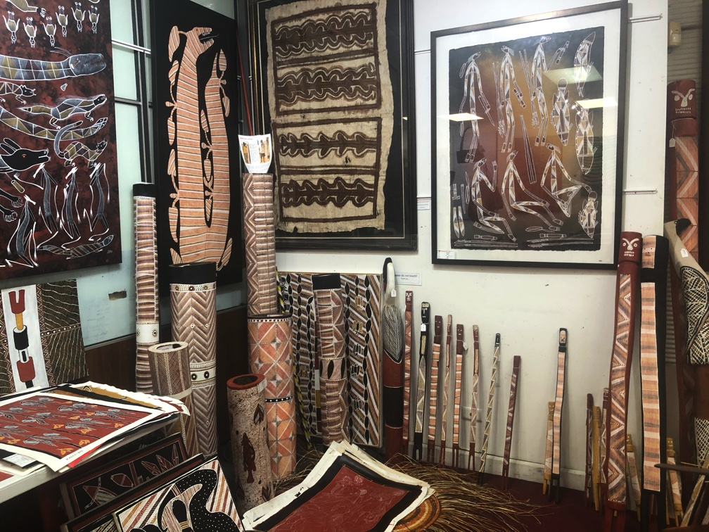 Aboriginal Burial Poles