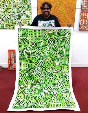 13450 Sharon Numina Aboriginal Artwork A