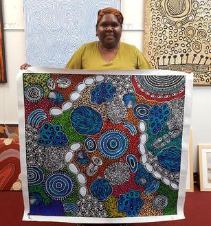 14127 Sharon Numina Aboriginal Artwork A