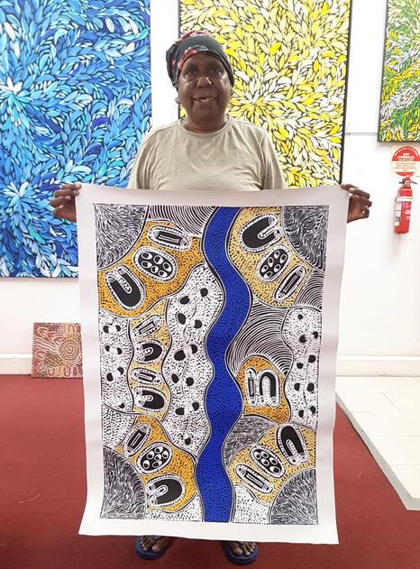 14191 Lanita Numina Aboriginal Art For S