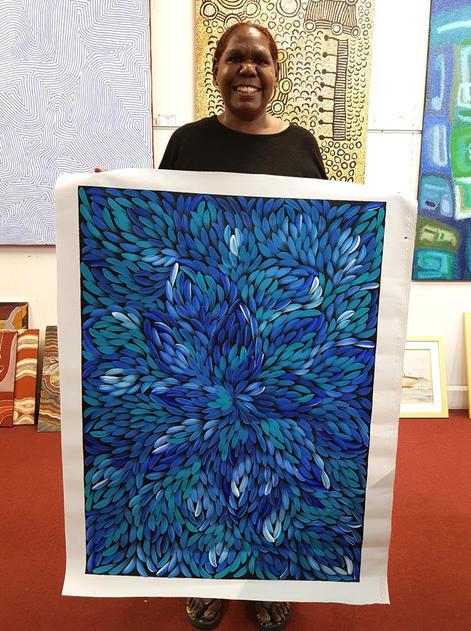 14196 Jacinta Numina Aboriginal Art For