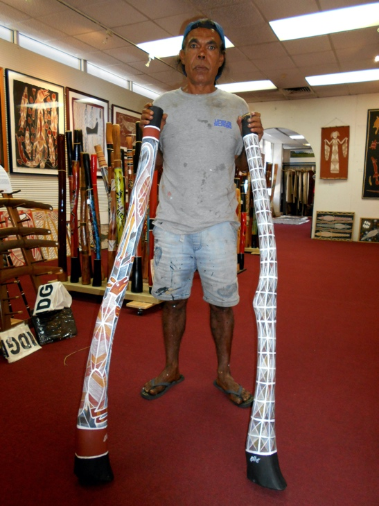 Didgeridoo artist