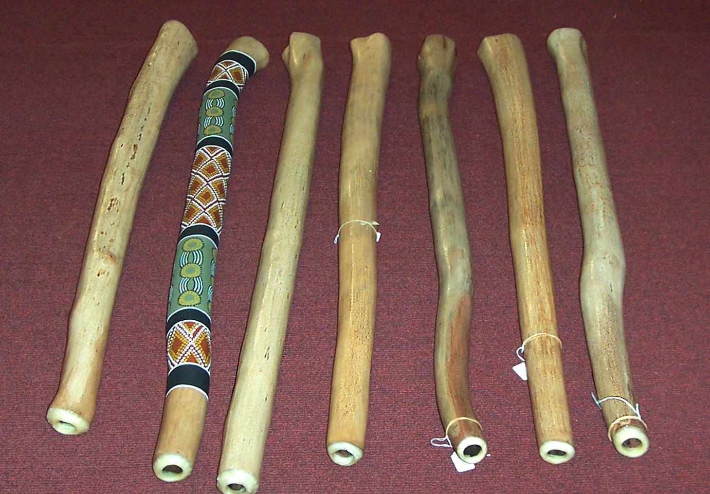 Blank didgeridoos