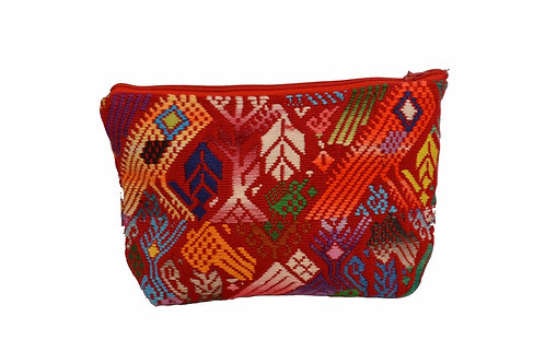 Up-cycled pouch - Mayan forest