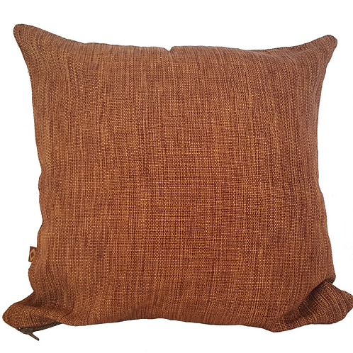 Blended color pillow - brown
